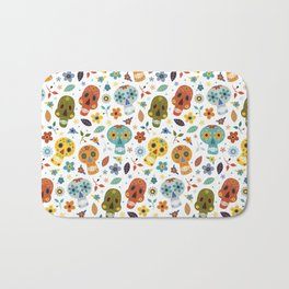 Sugar Skulls Bath Mat