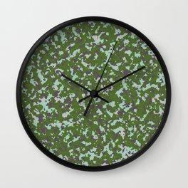 Camo 15 - Tide Pool Wall Clock