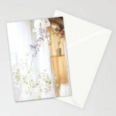 Flower and dresses Stationery Cards