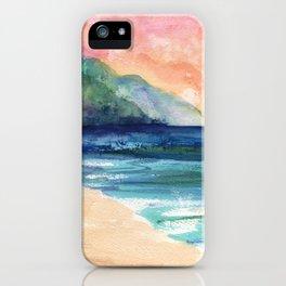 Ke'e Beach iPhone Case