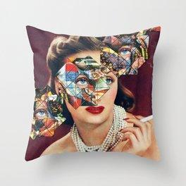 Cultural Bias Throw Pillow