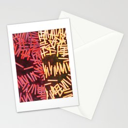 Stick Bomb Stationery Cards