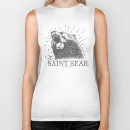 The Saint Bear Biker Tank