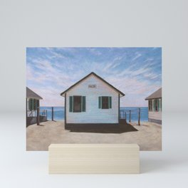 PHLOX Cottage with Ocean View Mini Art Print