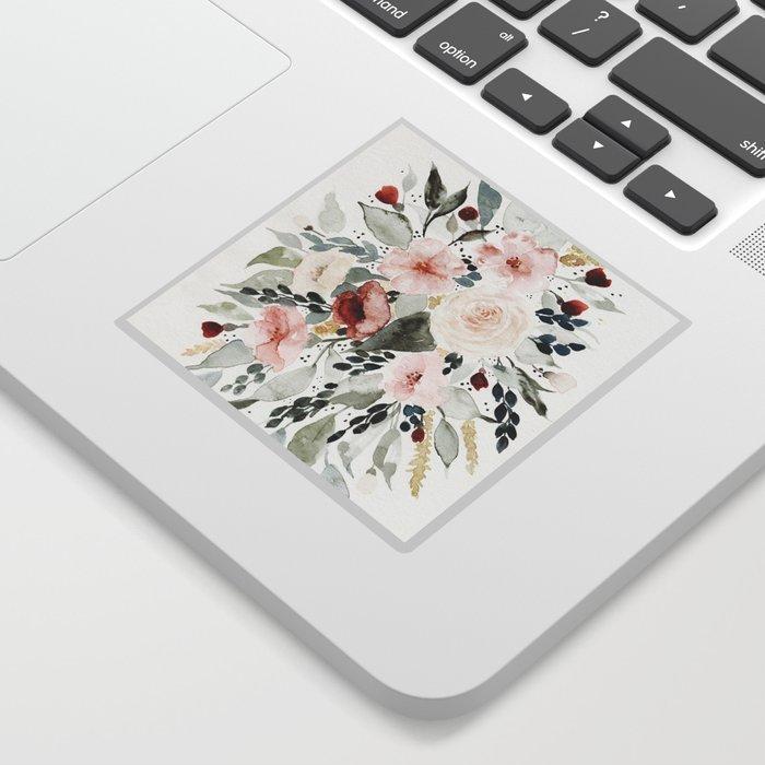 Loose Watercolor Bouquet Sticker