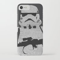 stormtrooper iPhone & iPod Cases featuring Stormtrooper by  Steve Wade ( Swade)