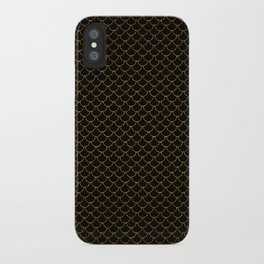Gold Scales iPhone Case