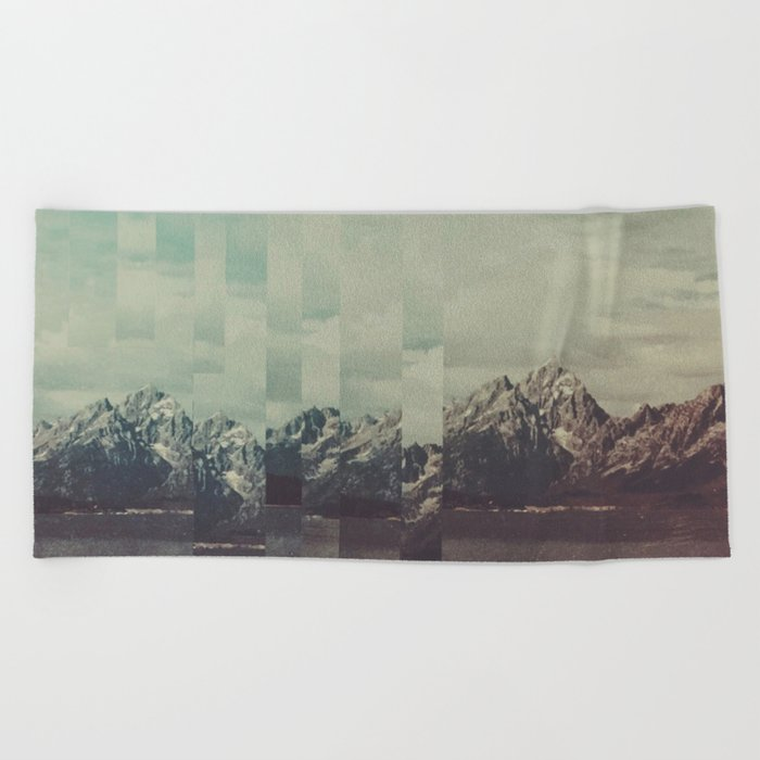 Fractions A31 Beach Towel