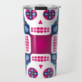 Talavera pink Travel Mug