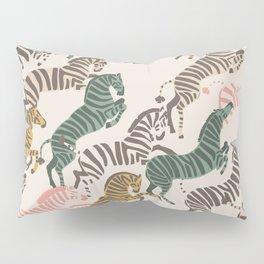 Zebra Stampede Pillow Sham