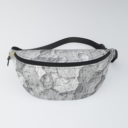 Nature Texture Print Fanny Pack