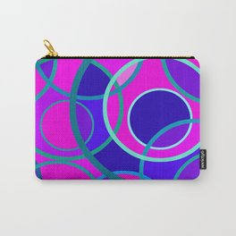 Abstract circle 199 Carry-All Pouch