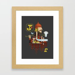 Jack of Hearts Framed Art Print