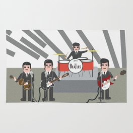 The Ed Sullivan Show Feb 9th 1964 Rug