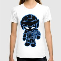 tron T-shirts featuring Mini Tron by thomasalbany