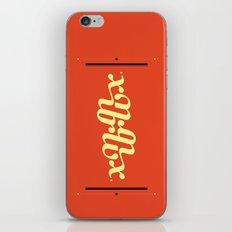 Type Foundry - Georgia Bold Italic iPhone & iPod Skin