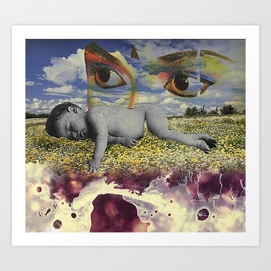 MementoMori 4 Art Print
