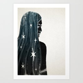 She's Full Of Magic Art Print