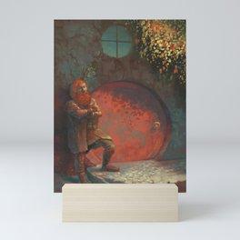 Berned Mini Art Print