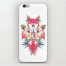 Flamingos Tropicales iPhone Skin