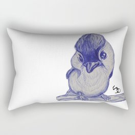 Chick-a-D Rectangular Pillow