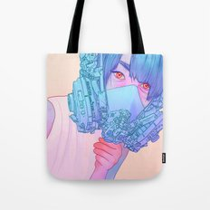 Untitled mask drawing Tote Bag