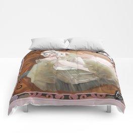 1800 - Genderqueer Time Traveler Comforters