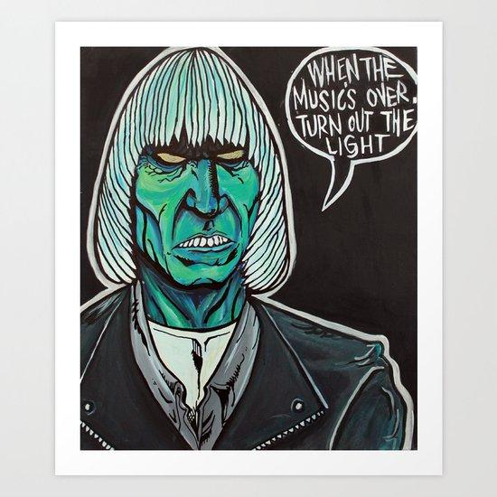 Johnny Graves Art Print