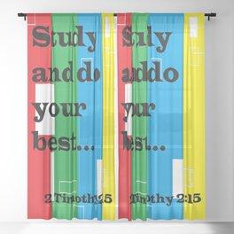 Study Sheer Curtain