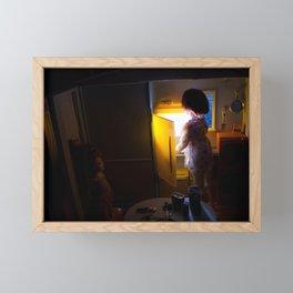 Cheating at Midnight Framed Mini Art Print