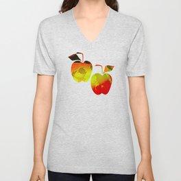 Winter Apples Unisex V-Neck