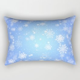 Winter snowflakes Rectangular Pillow