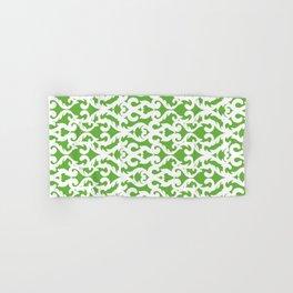 Modern Baroque Green Hand & Bath Towel