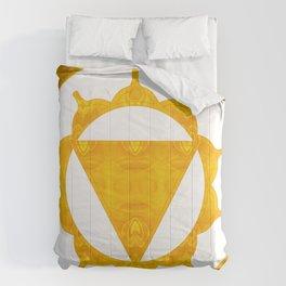 Energy Center Abstract Chakra Artwork Comforters