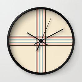 Filigree Fine Lined Cross Wall Clock