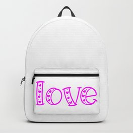Love & Flashy Colors Backpack
