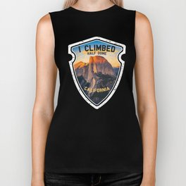 I Climbed Half Dome California Gift Yosemite Park Souvenir for Hikers, Climbers and Walkers Biker Tank
