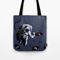 Interstellar Record Hunt Tote Bag