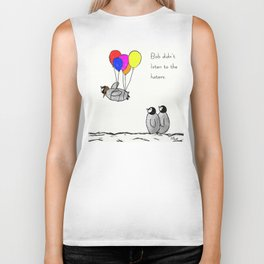 To be a Flying Penguin Biker Tank
