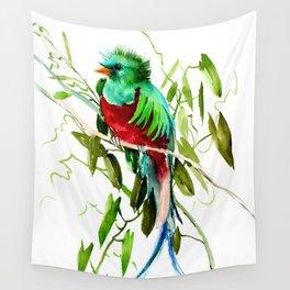 Quitzal Bird Wall Tapestry
