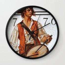 Joseph Christian Leyendecker - Militiaman - Digital Remastered Edition Wall Clock