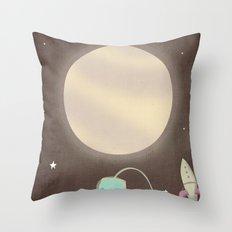 just passin' through Throw Pillow