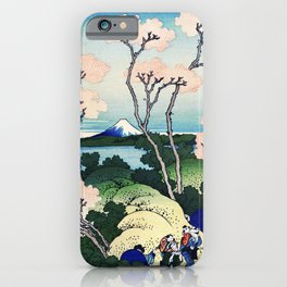 Goten-Yama Hill, Shinagawa iPhone Case