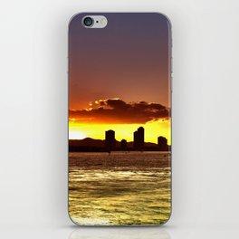 Sunset City Surfers Paradise iPhone Skin