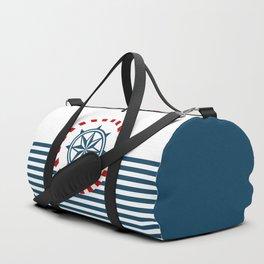 Nautical themed design 3 Duffle Bag