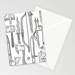 Warrior's Kit Stationery Cards