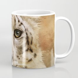 Hope For Tomorrow - Snow Leopard Art Coffee Mug
