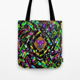 Diamond Bear Tote Bag