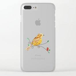 Bird of Costa Rica, yiguirro Clear iPhone Case