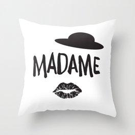 Madame Throw Pillow